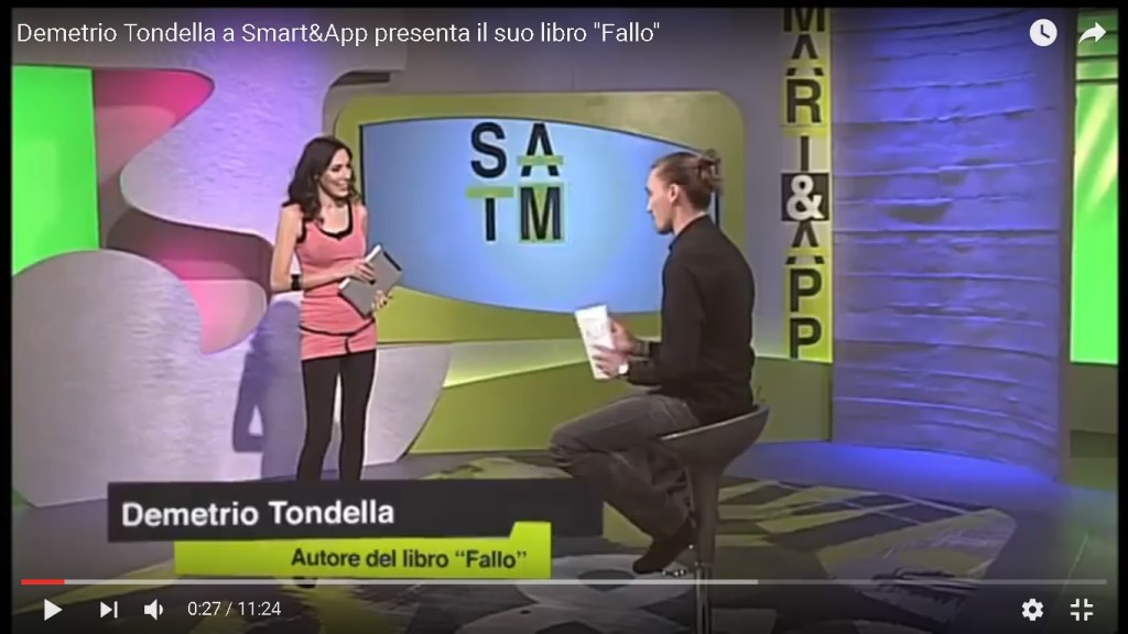 Professor Silvia Vianello SDA Bocconi School of Management MBA Presenta La3 tv technologia migliora la vita Demetrio Tondella Smart and app FALLO libro
